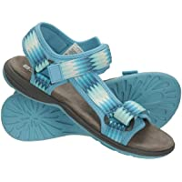 Mountain Warehouse Beachtime Sandals - Phylon Midsole Summer Shoes, Lightweight Beach Shoes, Hook & Loop Fitting, Easy…