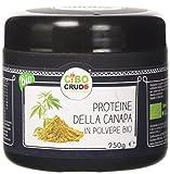 Cibocrudo Proteine della Canapa in Polvere - 250 gr