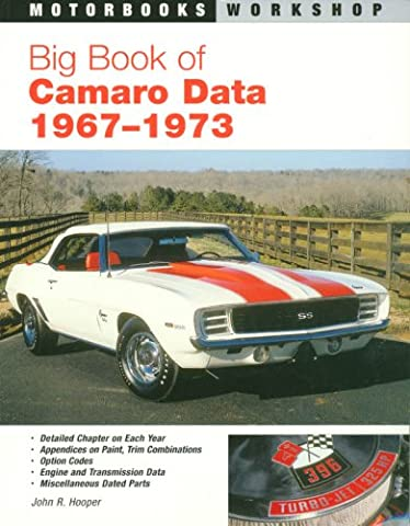 Big Book of Camaro Data 1967-1973