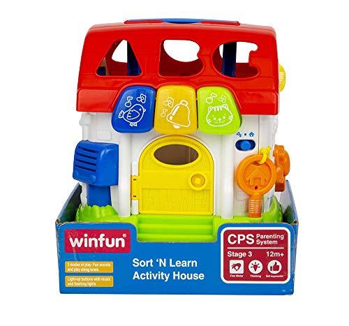 winfun-Spiel-Haus mit Licht & Sound (COLORBABY 44525)