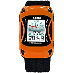 Lamborghini waterproof digital watches/Childrens creative gifts/Lovely and interesting students table-A