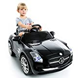 COSTWAY Kids Ride On Car of Electric Mercedes Benz SLS AMG with 6V