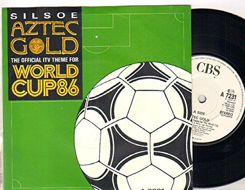 Silsoe - Aztec Gold - World Cup 86 - 7 inch vinyl / 45 Aztec Cup