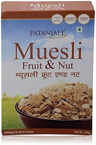 Patanjali Muesli Fruit And Nut, 200g