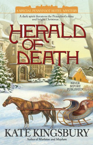 Herald Of Death Pennyfoot Hotel Mystery Book 19
