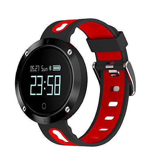 LENCISE Heart Rate Smart Watch IP68 Waterproof Blood Pressure Fitness Tracker Sports Watch Support IOS Android for Swimming (Reloj Digital Sony)