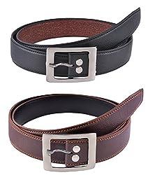 Elligator Combo of Black Belt and Brown Belt (Two Belt)