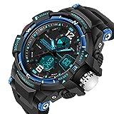 Happy Digital® Sports Watches LED Digital Military Watch 50m Waterproof Men Sport Digital Quartz watches