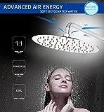 S R SUNRISE SRSH0801 Regendusche Rainshower duschkopf wassersparend Kopfbrause Edelstahl für badezimmer