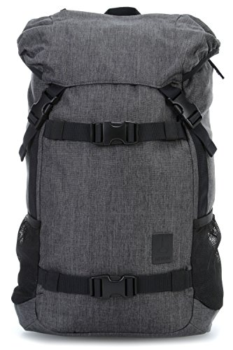 Se-notebook-rucksack (Nixon Landlock Backpack Se Ii, Color: Charcoal Heather, Talla: One Size)