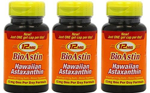BioAstin 3 Dosen je 50 Kapseln à 12 mg