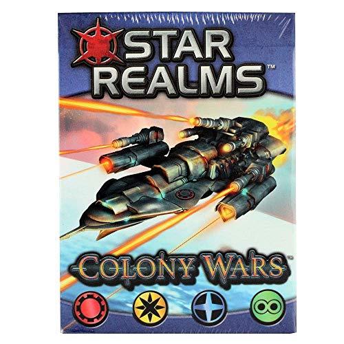 ADC Blackfire Entertainment Star Realms - Colony Wars - Deckbauspiel (deutsch)