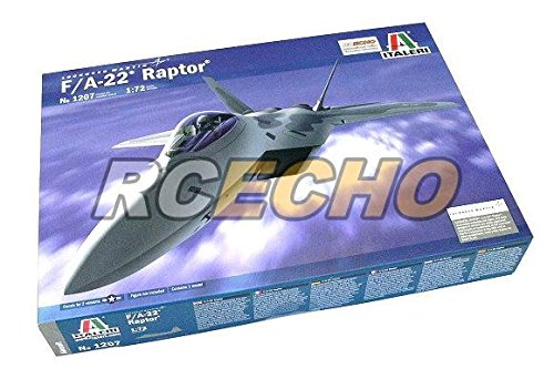 rcechor-italeri-aircraft-model-1-72-lockheed-martin-f-a-22-raptor-scale-hobby-1207-t1207-with-rcecho