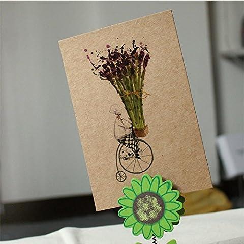 candora® 20/60/100, A6, blanko Papier/Visitenkarten/WORT-DIY Postkarte/Nachricht Karte DIY Geschenk (Headset Seal)