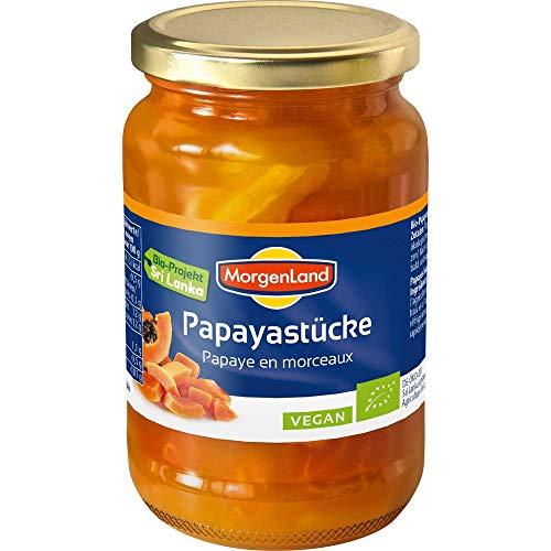 Morgenland Bio Papaya-Stücke (6 x 350 gr)