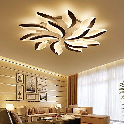 LPLFCeiling Modern simple lampara de salon de originalidad LED de luz de techo con turno estudio dormitorioBueno...
