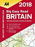 AA Big Easy Read Britain 2018 (AA Road Atlas) (Aa Road Atlas Britain)