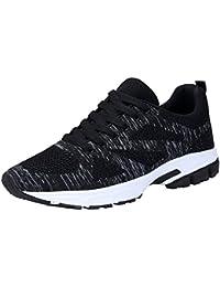 f02e2a02a KOUDYEN Zapatillas Deporte Hombres Mujer Gimnasio Running Zapatos para  Correr Transpirables Sneakers