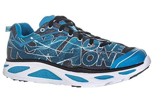 Hoka One , Herren Laufschuhe Black/Blue Jewel