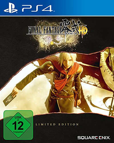 Final Fantasy Type-0 HD - Steelbook Edition (exklusiv bei Amazon.de) - [PlayStation 4] - Vita Spiele M Ps