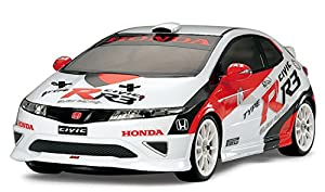 Tamiya 300058476  - JAS Honda Civic Type R R3-FF-03 (1:10) Importado de Alemania