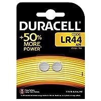 Duracell Lr44 Özel Alkalin Pil, 2'li 1,5 Volt, Bakır/Siyah