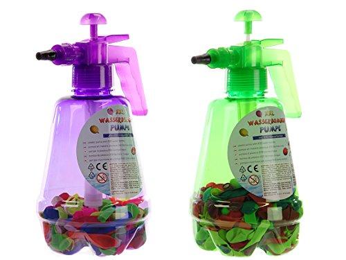 Bada Bing 2er Set XXL Wasserbomben Pumpe inkl. 400 Wasserballons Wasser Spielzeug Wasserschlacht Geburtstag Geschenk 43