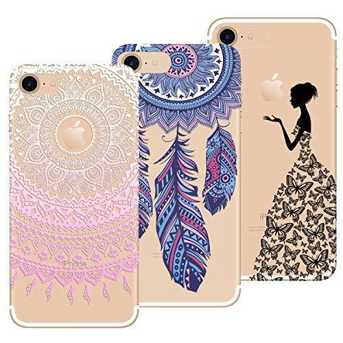 89d266c9c18 Yokata Funda para iPhone 7 / iPhone 8, [3 Packs] Carcasa Transparente Ultra
