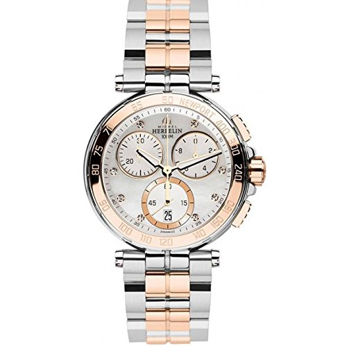 Damen Uhr - Michel Herbelin - NEWPORT - Sapphirglass - 33696/BTR59
