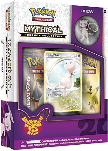 Pokemon 20th anniversary mythical pin box 1: Mew