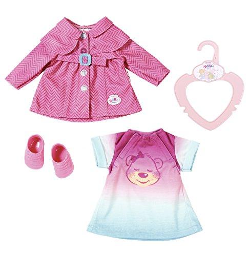 Zapf Creation 823477 - My Little Baby born Ausgeh Set, Puppen (Baby-kleid-mantel)