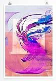 Wunder dich nicht - modernes abstraktes Bild Sinus Art - Bilder, Poster und Kunstdrucke