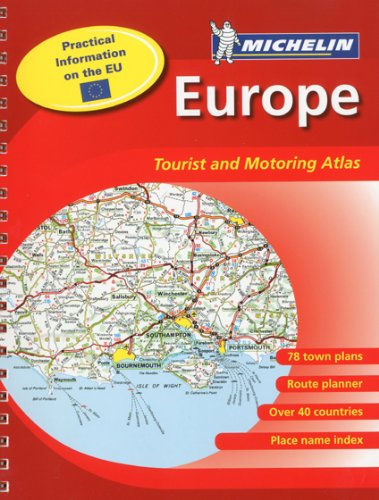 Michelin Europe Tourist & Motoring Atlas par (Couverture à spirales - Feb 2009)