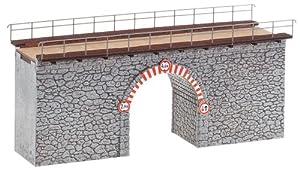 Faller - Puente de modelismo ferroviario escala 1:87 (F120498)