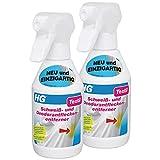 HG Schweiß- und Deodorantfleckentferner, 2er Pack(2 x 250 ml)