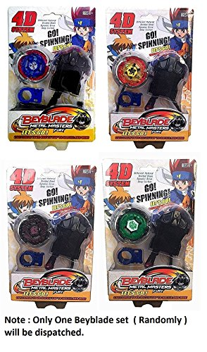 FUNSTERS Beyblade With Metal Fury 4D System Beyblade Spinning Toy - Multi Color