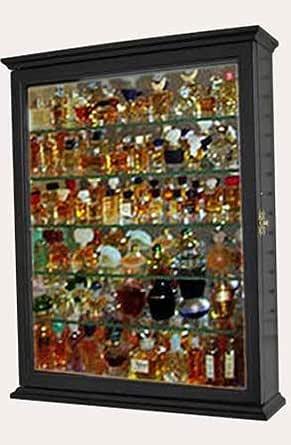 Black Finish Miniature Perfume Bottle