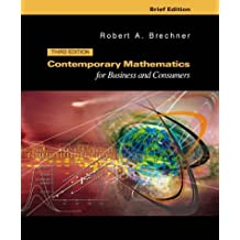 Contemporary Mathematics for Business and Consumers: Brief