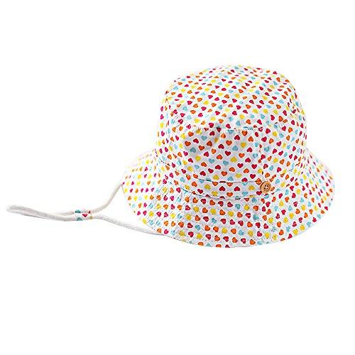 Pershoo Berretto Cappello Sole per Bambino Cotone