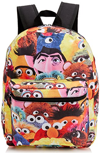 meroncourt-sesame-street-characters-design-childrens-backpack-14-liters-black-multicolour-bio-bp0j9f