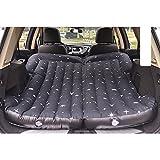 Car bed HUO Aufblasbare Bett-Matratze Für SUV-Autokofferraum-faltendes Kampierendes Bett-Reise Im Freien (Farbe : Schwarz)