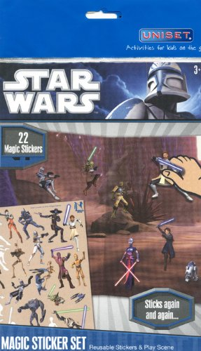 6543 Star Wars Magic Sticker Set