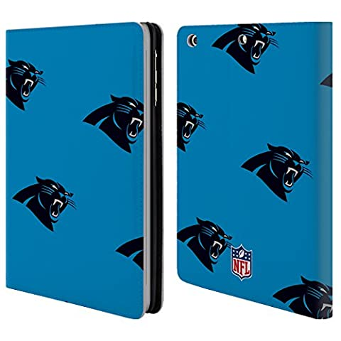 Official NFL Patterns 2017/18 Carolina Panthers Leather Book Wallet Case Cover For Apple iPad mini 1 / 2 /