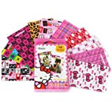 Instax Film Decoration Sticker Borders for Fujifilm Instant Mini 8 Instant Mini 7S / 50S / 90 / 25 Film - Hello Kitty, 10 Sheets/Pack