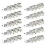 Homyl 10 stück 12W G8.5 LED Lampen Ersatz Halogenlampen,1200lm, Warmweiß/weiß,LED Birnen, LED Leuchtmittel