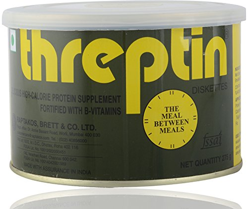 Threptin Protein Supplement Diskettes - 275 gms