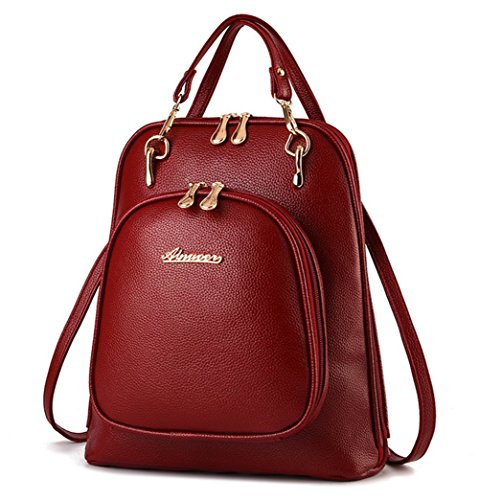 yaagle-pu-leather-casual-backpack-shoulder-bag-travel-rucksack-bag-for-women-girls