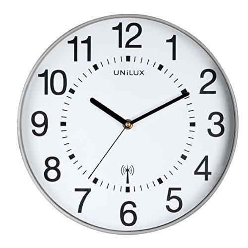Pendule UNILUX Wave Technologie Radio Pilotee Adaptation Automatique Horloge Atomique Mainflingen