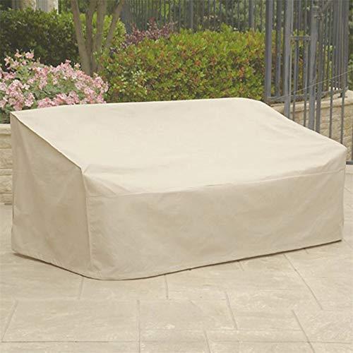 Turefans Housse Salon de Jardin,Bâche de Protection,Housse de Protection pour Les Tables de Jardin,Beige (180 * 112 * 65 cm)