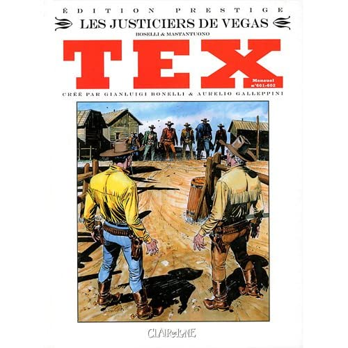 Tex, Tome 601-602, mensue : Les justiciers de Vegas